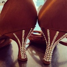 Blinged out shoes!