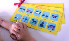 DIY - Printable - Loto pour occuper les enfants pendant les trajets en voiture.
