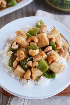 Chinese Cashew Chicken {30-Minute Meal}Really nice recipes.  Mein Blog: Alles rund um Genuss & Geschmack  Kochen Backen Braten Vorspeisen Mains & Desserts!