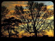 Des Moines, Iowa Sunset