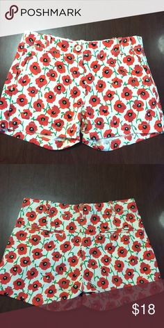 Crewcuts j. Crew Sz 12 girls floral short Great condition! Bundle & SAVE! Ask for questions if you need more discount. Always open to offers! Also offering mystery bundle. I have so many unlisted inventory! I'm selling on a different platform as well and it's consuming most time. Just let me know if you need one. I will be doing $25 mystery bundle. With a few pieces of clothing in it. Let me know what you like and what's your style!! 💜💜💜 J. Crew Bottoms Shorts