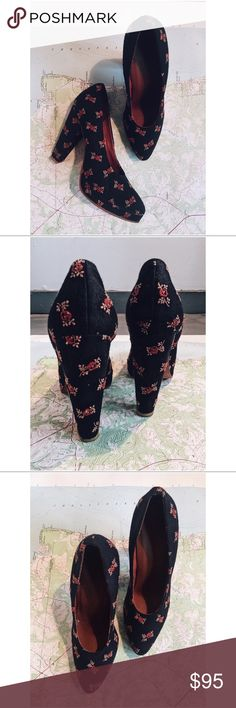 Spotted while shopping on Poshmark: Rachel Comey Floral Fabric Pumps! #poshmark #fashion #shopping #style #Rachel Comey #Shoes