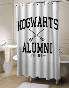 hogwarts alumni shower curtain #showercurtain  #showercurtains  #curtain  #curtains  #bath  #bathroom  #funnycurtain  #cutecurtain