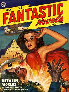 Lawrence Sterne Stevens : Fantastic Novels Jul. 1949