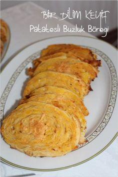 Yıllar önce bir arkadaşımda yemiştim bu böreği. Tarifi yıllar sonra Ufuk Mutfakta'da karşıma çıkınca, doğum günü menümüze ekleyiverdim :-)
