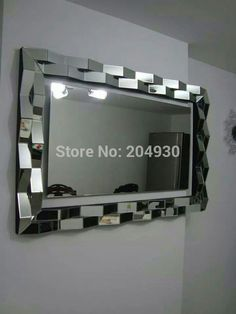 Cheap mirror times, Buy Quality mirror on the wall directly from China mirror harley Suppliers:  1) Desc.: Facet frame wall mirror/3D wall mirror home decorative. 2) Product Size:120*5*80cm H3) Ma