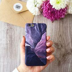 iPhone,Samsung Galaxy case , dark Marble - iwantcase - Etui na telefon