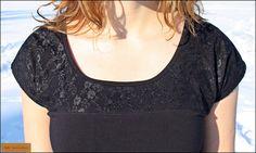 Shirt mit Spitze nach dem Schnitt Dannii von Schittgeflüster