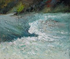 Flowing Water, oil on canvas