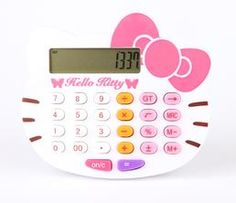 Hello Kitty Face Calculator: Butterfly
