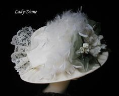 Victorian hat, Lady Diane back of hat)
