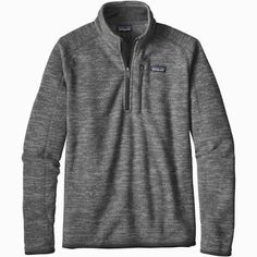 Patagonia Better Sweater, Cool Sweaters, Men Sweater, Zip, Mens Tops, How To Wear, Jackets, Down Jackets, Men's Knits
