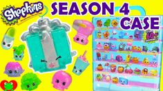Shopkins SEASON 4 Glitzi Collector's Case Display with 8 EXCLUSIVES