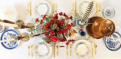 A beautiful table setting for any get together. #Inspiration #nowandagain
