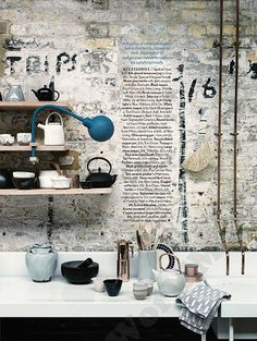 Homes and Gardens Eastern Accents Nom Living Rustic Ceramic