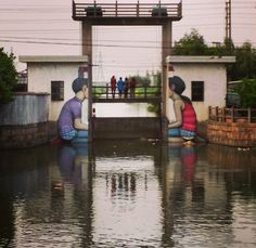by Seth GlobePainter - Tales from the countryside, part 1 - Bridge Fengjing, China