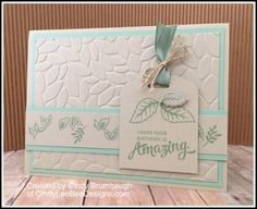 stampin' up mixed borders by Cindy Brumbaugh of CindyLeeBeeDesigns.com
