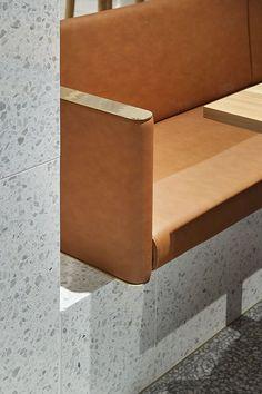 leather + concrete