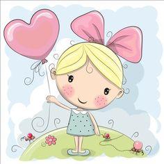 Cute cartoon girls design vector 02 - https://gooloc.com/cute-cartoon-girls-design-vector-02/?utm_source=PN&utm_medium=gooloc77%40gmail.com&utm_campaign=SNAP%2Bfrom%2BGooLoc