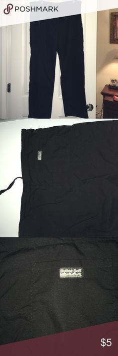 Butter soft scrubs In good condition. No stains or discoloration. Please bundle to get a free item :) curtesy listing for my mom as she cleans her close out. Bundle only :) did not find size on the pants but looks like an XL butter soft Pants