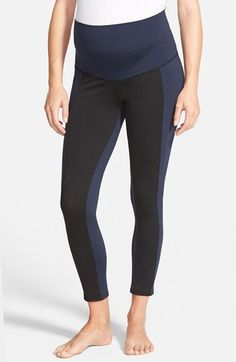 Maternal+America+Crop+Maternity+Yoga+Pants+available+at+#Nordstrom