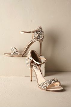 dc0164b5dfe2 Find nude   strappy low wedding heels fit for a bride