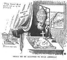 16 Old-Time Anti-Catholic Political Cartoons to Put Things in Perspective Catholic Beliefs, Catholic Books, Political Beliefs, Politics, Mexican American War, Babylon The Great, Pope Francis, Antique Prints, Political Cartoons