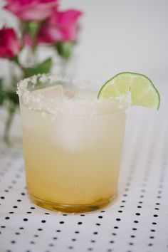 A fresh & light Margarita recipe that is a great homemade alternative to pre-mixed options.