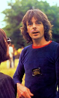 Rick Wright - Pink Floyd at Knebworth House, Hertfordshire, England, 1975