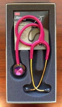 "3M Littmann Classic II S.E. 28"" Stethoscope RASBERRY Rainbow 2829RBW New in Box  US $87.50 New in Business & Industrial, Healthcare, Lab & Life Science, Medical Instruments"