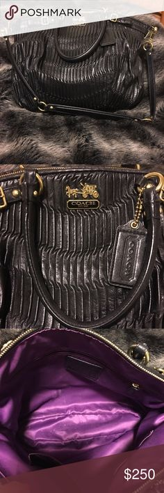Limited edition Coach handbag Large 14inX18in bag. Gorgeous! Bought at the Coach store for $600. Love the bag but need to downsize. Price firm Coach Bags Satchels