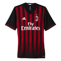 360db215e7b Adidas AC Milan Home Mens adizero Jersey 2016 2017 Ac Milan Kit