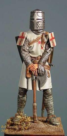 Templar Miniture Figurine