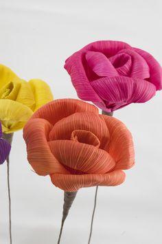 Cornhusk flowers!
