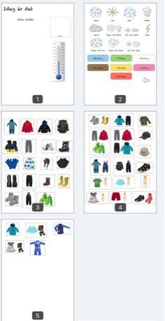 Tecken som stöd: Bildstöd kläder