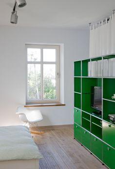 USM Haller Shelving In USM Green. Www.usm.com Trendy Furniture, Modern