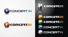 Logo for ConcertIn.com web site  by fer