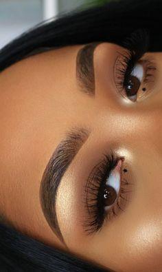 makeup looks for black women Makeup for black women Natural Makeup For Black Women black Makeup women Natural Organic Makeup, Natural Makeup Looks, Black Girl Makeup Natural, Natural Beauty, Black Makeup Looks, Brown Skin Makeup, Blue Eye Makeup, Makeup Eyeshadow, Natural Eyeshadow