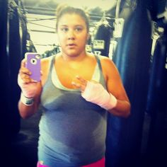 """Day 26 out of 90 days/The owner of the title boxing club said """"Looks Iike you're getting your money's worth!"""" My Mom: I didn't think you were going to stick with it. Me: because I always back. I can't let myself down and I have so many people cheering me on, that I can let down. Mom: I believe you're going to make it and I am very proud. I have been waiting for 10 years to hear this, finally I have made her proud of me!! Thank you god for giving me the strength..."""