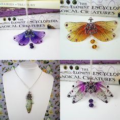 I've got some lovely new fancy fairy pendants in my shop! These are so lovely to wear - I made myself a purple one and it's my new favourite necklace 💗😈 #fairy #fairywings #fae #faeries #magical #pendants #jewellery #design #creative #artist #diy #crafts #etsy #etsyseller #etsyshop #justasstrangeasiam #fairytale #fantasy #spring2017 #colourful #happy