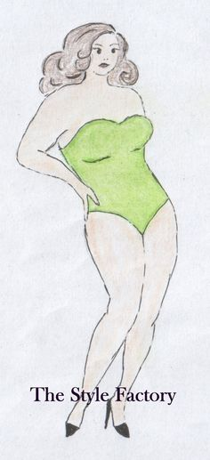 Body Type Y (inverted triangle) Plus Size // thestylefactory.pl //