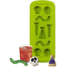 Wilton 570-0116 9 Cavity Science Lab Silicone Mold, Green