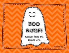 BOO BUMP!  Addition Facts and Doubles to 12 - FREEBIE!