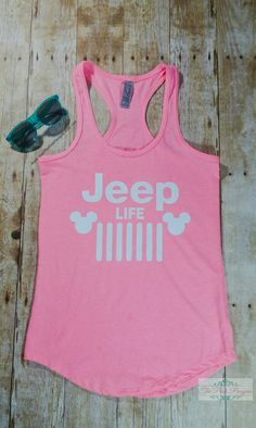 Jeep Life Shirt Womens Shirt Jeep Life Jeep by JaxxThePinkPenguin