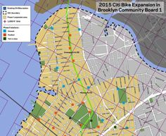 MAP: Citi Bike reveals new station locations in Williamsburg and Greenpoint