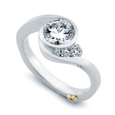This is the one, a girl can dream. I am in love with this designer, and the hidden heart plus its wedding band fits together