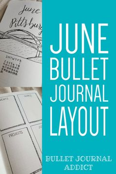 Bullet Journal Monthly Layout And Cover For Pittsburgh - Bullet Journal Setup and Layout For June - Bullet Journal Spreads For Moving #bulletjournal #bujo #bujolove #bujocollections #bulletjournalcollections #collections #monthlysetup #bujomonthly #bujodaily #bujomonth #junecoverpage #coverpage #bujocoverpage