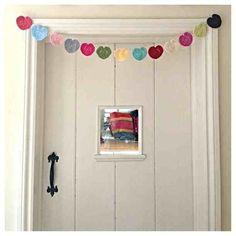 Crochet Heart Bunting