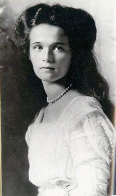 Su Alteza Imperial la Gran Duquesa Olga Nikolaevna. La hija de Nicolás II y Alexandra. Vivió 1895-1918. Asesinado por los bolcheviques.