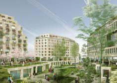 Triangle Eole, Evangile l'Ilot Fertile by TVK, Architectes Urbanistes, OLM Paysage